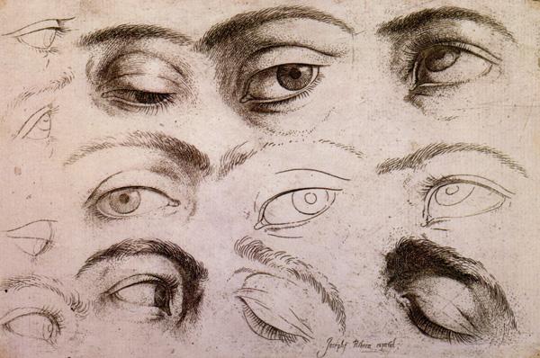 studi di occhi