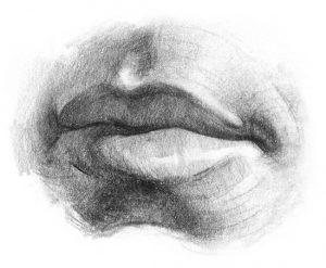 drawing-lips