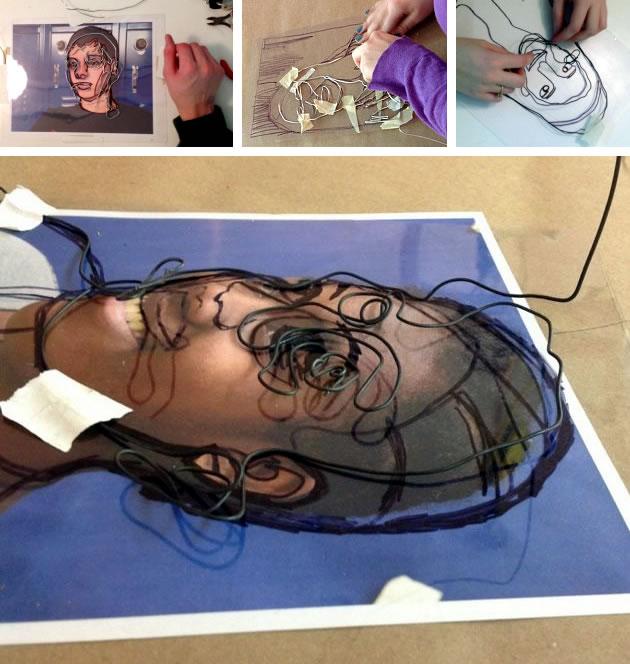 wire-portraits