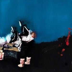 Questo dipinto dall'artista Ian Francis è stato dipinto su fondo nero. Uno sfondo del genere costringe ad applicare i colori sovrastanti in grossi strati o con più mani e può contribuire a creare profonde ombre portate.